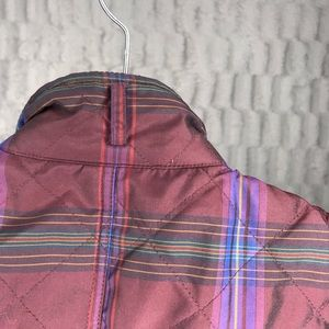 Lauren Ralph Lauren Jackets & Coats - Lauren Ralph Lauren Plaid Quilted Full Zip Vest